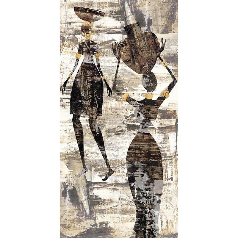 Quadro africa 1 stile africano stampa su mdf o tela for Arredamento casa stile africano